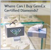 Where can I buy GemEx certified diamonds?